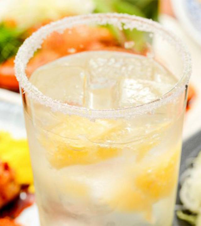 フローズンレモンの塩レモンサワー