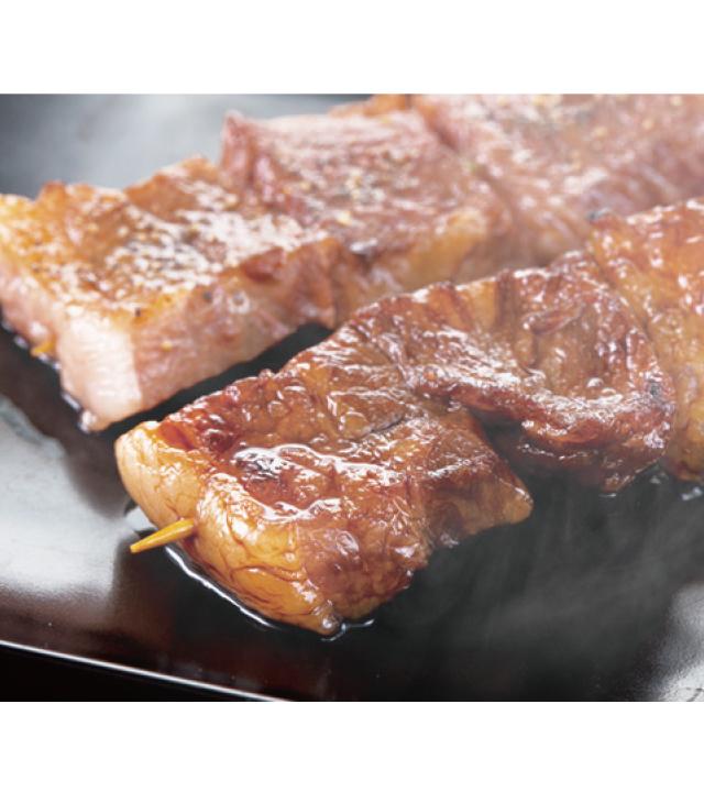 バイエルン風ジャンボ串焼き 牛カルビ串