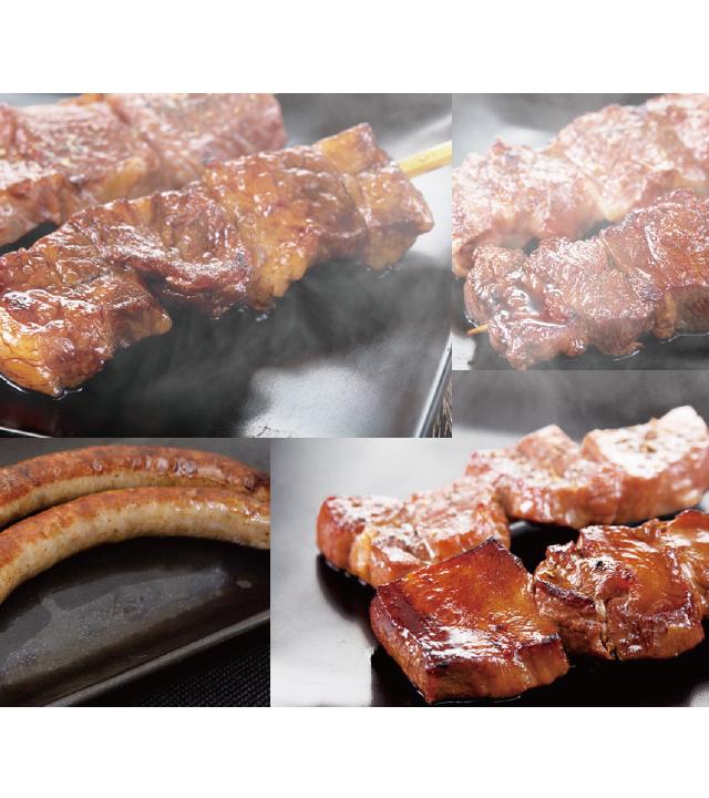 バイエルン風ジャンボ串焼き お好み串焼き3本セット