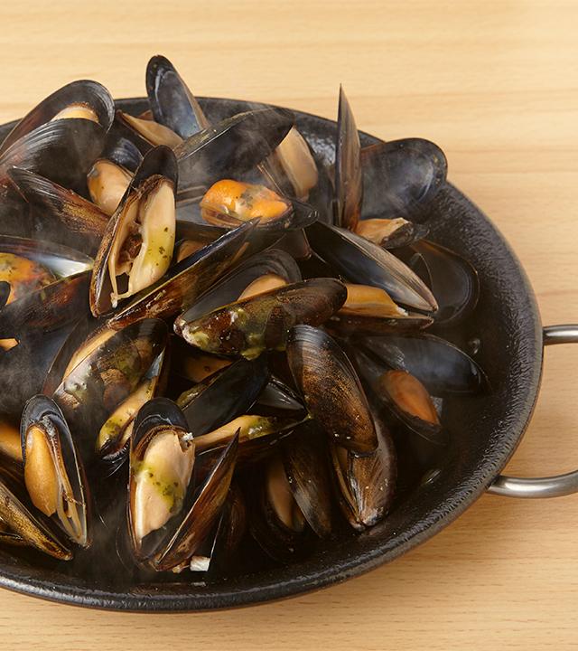 どっさり大粒ムール貝1kg  ~選べる2種のソース~